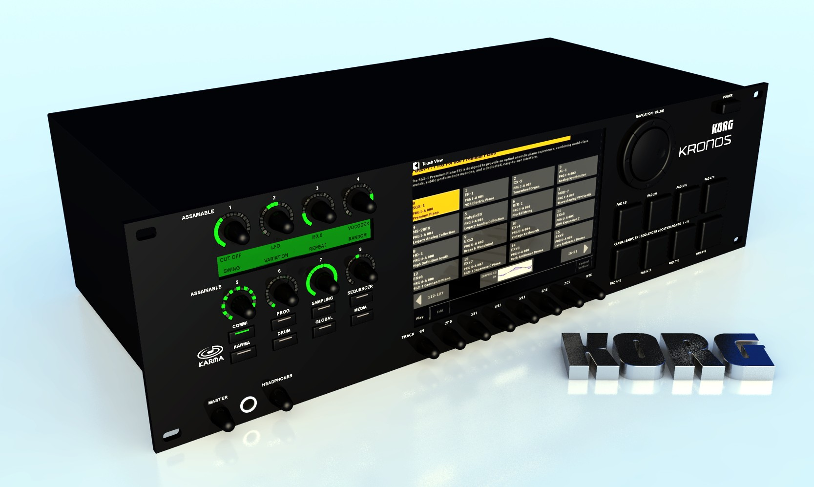 Korg Forums :: View topic - KRONOS Rack, I'd buy one