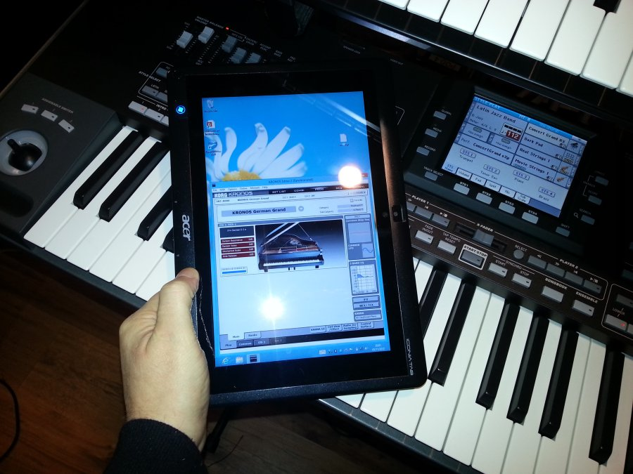 View topic - Win 8 Tablet + KRONOS Editor  - Korg Forums