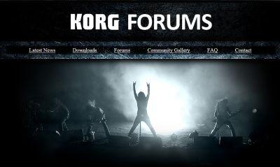 Korg Forums
