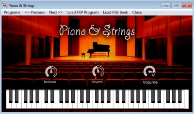 VST Piano & Strings